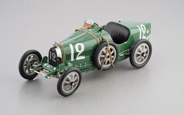 CMC: Bugatti T 35 Grand Prix 1920 Nation Colour Project – England (schaal 1/18)