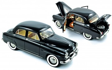 Norev : Simca Aronde 1953 Black (schaal 1/18)