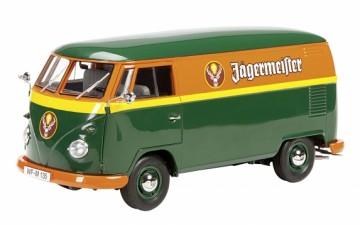 """Schuco : VW T1 Kasten """"Jägermeister"""" (1/18)"""