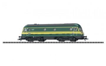 Trix actie!!! Belgische locomotief Diesel Type 59 (HO)