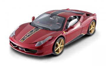 Hotwheels : FERRARI 458 ITALIA  CHINA EDITION (1/18)