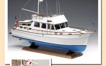 Amati bouwdoos hout : Grand Classic Grand Yacht (1/20)