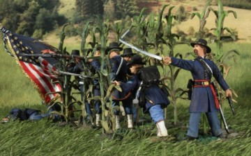 W Britain : AMERICAN CIVIL WAR – MILLER'S CORNFIELD