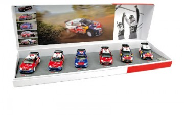 Norev: Gift Box Loeb/Elena Winner for the 6th consecutive year of WRC in2009 (1/43)