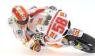 Minichamps : FIGURINE – MARCO SIMONCELLI – MOTOGP 2011 – ´HANGING OFF´