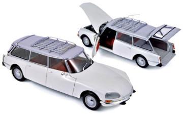 Norev : Citroën Break 21 1970 – Wit (schaal: 1/18)