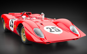 CMC : Ferrari 312P Spyder, Sebring 25, 1969