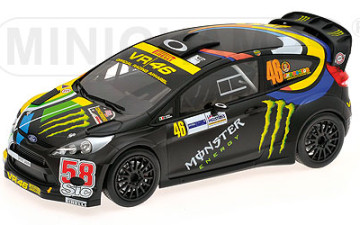 Ford Fiesta RS WRC Rossi 2011
