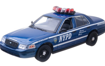 GREENLIGHT 12877 – FORD CROWN VICTORIA POLICE NYPD 1/18