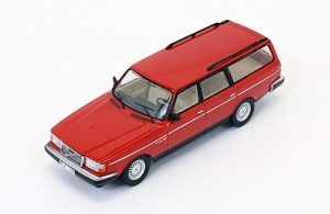 VOLVO 240 Polar 1988 Red