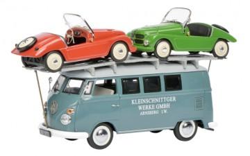 """VW T1 """"Kleinschnittger"""" with 2 Kleinschnittger F125"""