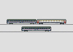 MÄRKLIN – Express Train Passenger Car Set.