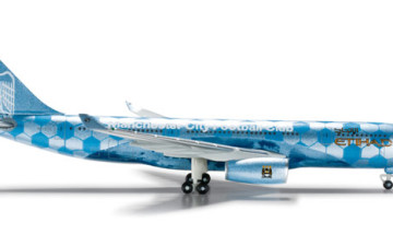 "Etihad Airways Airbus A330-200 ""Manchester City Football"""