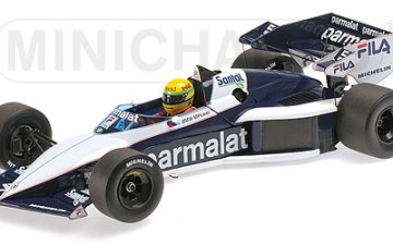 BRABHAM BMW BT52B – AYRTON SENNA – TEST CAR ´PAUL RICARD´ 1983