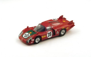 ALFA ROMEO 33/2 n.39 – 4th LeMans