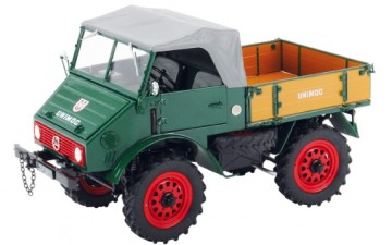 Mercedes-Benz Unimog 401 mit Softtop
