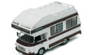 Barkas B1000 Wohnmobil 1973 Brown Diecast Model