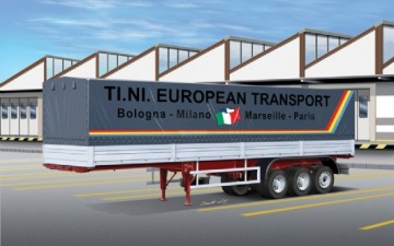 ITALERI – CLASSIC CANVAS TRAILER