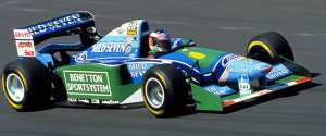 Hungarian Grand Prix, Hungaroring, Hungary, 1994. Michael Schumacher at speed. CD#Motorsport4-2.