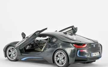 BMW i8 Sophisto Grey 1:18