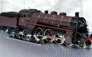 MÄRKLIN 3111 – Stoomloc 5920 van de NMBS.