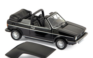 Volkswagen Golf Cabriolet 1981 – Black