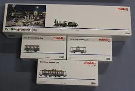 """MÄRKLIN 2880 – Hoftrein """"Koning Ludwig II"""", Stoomloc, Beierse B VI """"Tristan"""""""