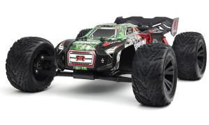 ARRMA  –  4WD Kraton 6S BLX 1/8 4WD Speed Monster RTR Green