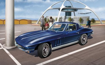 REVELL : CORVETTE STINGRAY – 1965