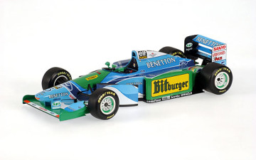 BENETTON FORD B194 1994 M.SCHUMACHER (World champion) (Without figurine)