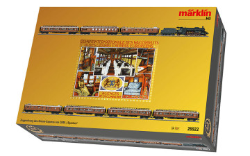 MÄRKLIN 26922 : Orient Express Train Set with a Baden Class IV h