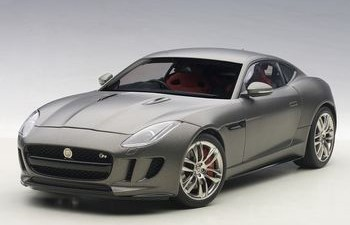 1/18 JAGUAR F-TYPE 2015 R COUPE' (MATT GREY)