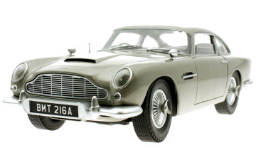 ASTON MARTIN DB5 – 1962 – JAMES BOND GOLDFINGER –