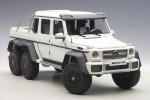 MERCEDES-BENZ G63 AMG 6×6 (MATT WHITE) 2013