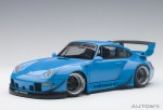 PORSCHE 993 RWB (BLUE/GUN GREY WHEELS)