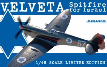EDUARD : Velveta / Spitfire for Israel 1/48