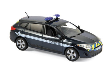 Renault Megane Estate 2012 – Gendarmerie (Zebra bleu /jaune)