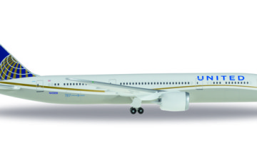 528238-001  United Airlines Boeing 787-9 Dreamliner