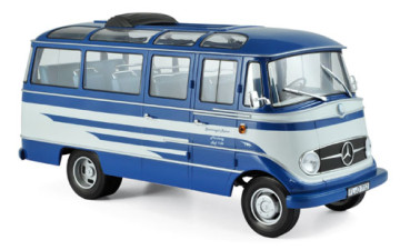 Mercedes-Benz O319 Bus 1957 – Blue & Beige