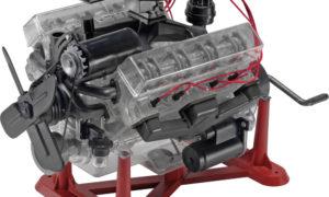 REVELL / MONOGRAM – 1/4 Visible V-8 Engine Plastic Model Kit