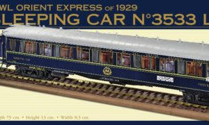 AMATI : ORIENT EXPRESS – 1929 – SLEEPING CAR