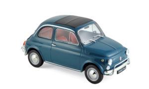 NOREV : FIAT 500 L 1968 – BLUE – STUNTPRIJS : 40,00€