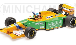 BENETTON FORD B192 – MICHAEL SCHUMACHER – 1ST GP VICTORY SPA 1992 L.E. 1992 pcs.
